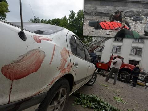Βίντεο που σοκάρει: Νεκροί πολίτες στους δρόμους του Λουγκάνσκ