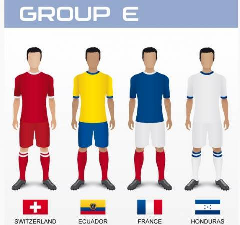 Μουντιάλ 2014: Τα ρόστερ των εθνικών ομάδων (5ος όμιλος)