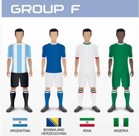 Μουντιάλ 2014: Τα ρόστερ των εθνικών ομάδων (6ος όμιλος)