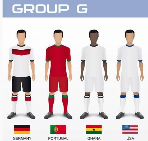 Μουντιάλ 2014: Τα ρόστερ των εθνικών ομάδων (7ος όμιλος)