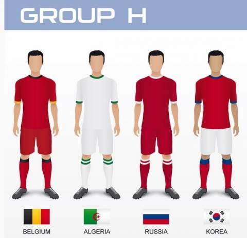 Μουντιάλ 2014: Τα ρόστερ των εθνικών ομάδων (8ος όμιλος)
