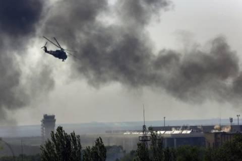 Ополченцы сбили вертолёт ВВС Украины в Славянске