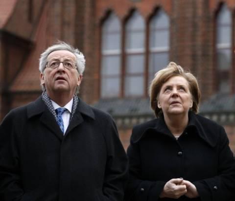 Μέρκελ: Ξανά υπέρ Γιούνκερ για την Ευρωπαϊκή Επιτροπή
