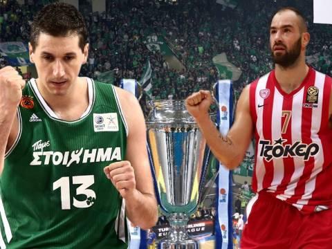 Παναθηναϊκός - Ολυμπιακός: LIVE ο τελικός - τίτλου από το ΟΑΚΑ