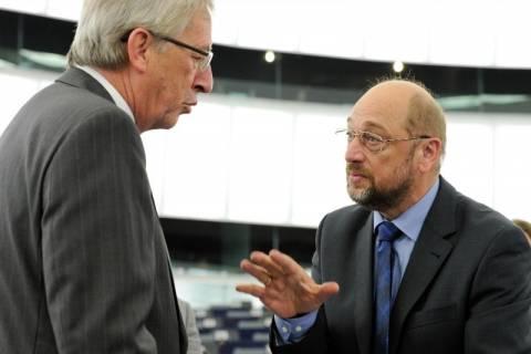 Σουλτς: Φαβορί για την προεδρία της Ευρωπαϊκής Επιτροπής ο Γιούνκερ