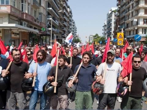 Θεσσαλονίκη: Συλλαλητήριο κατά της διαθεσιμότητας