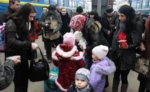 Увеличивается поток беженцев с Украины в Россию