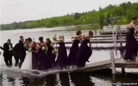 Βίντεο: Δείτε τι έπαθαν λίγο προτού παντρευτούν!