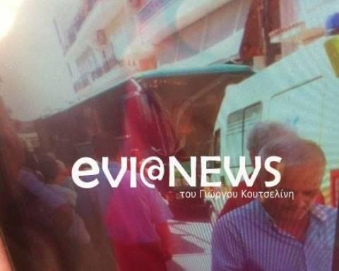 Θρήνος στη Χαλκίδα: Κατέληξε ο οδηγός του λεωφορείου που λιποθύμησε