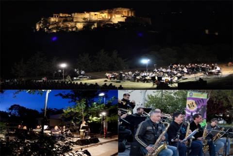 Ευρωπαϊκή γιορτή της μουσικής στο λόφο του Φιλοπάππου