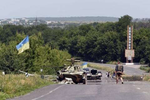 Ουκρανία: Λουκέτο σε τρία συνοριακά φυλάκια με τη Ρωσία