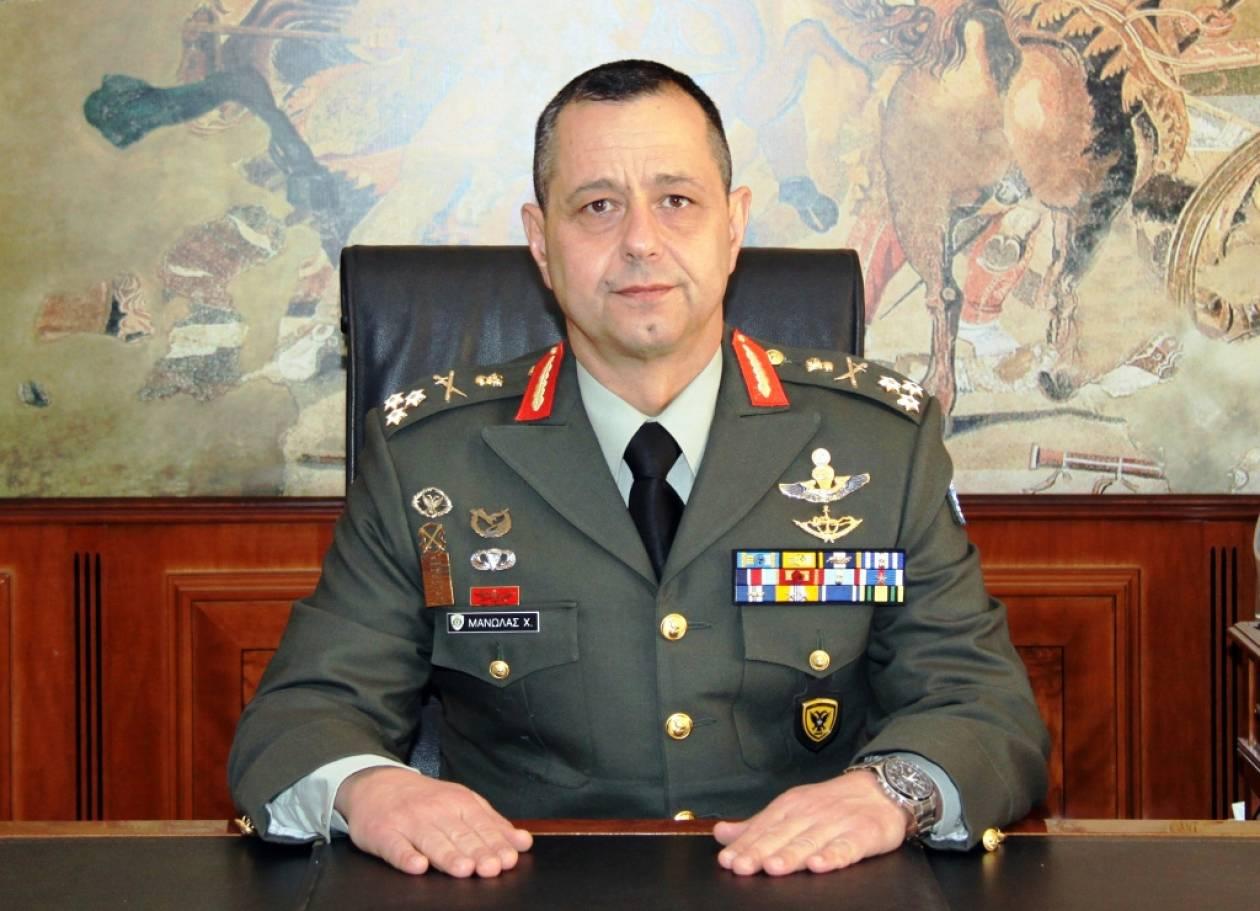 Συνάντηση του Αρχηγού ΓΕΣ με τον Τούρκο διοικητή της 1ης Στρατιάς