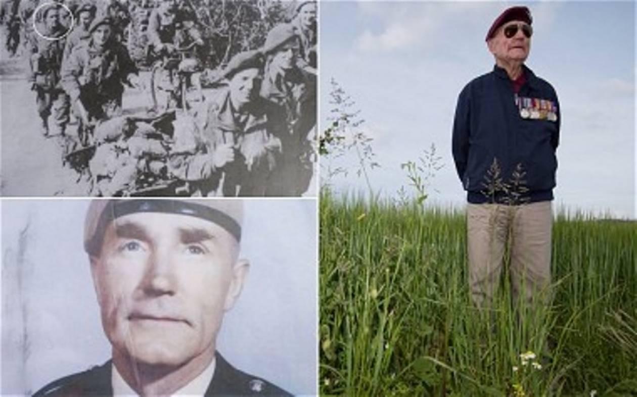 Νορμανδία: Πήδηξε ξανά με αλεξίπτωτο, 70 χρόνια μετά την απόβαση!