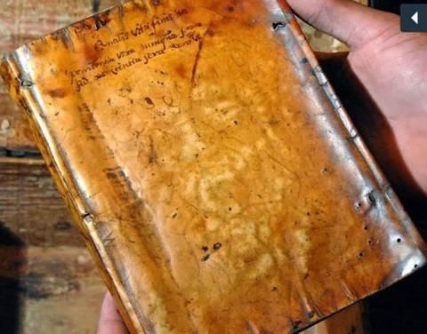 Ανατριχιαστικό: Ανθρώπινο δέρμα είχε χρησιμοποιηθεί σε εξώφυλλο βιβλίου του 19ου αιώνα
