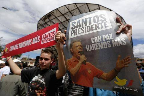 Κολομβία: Ντέρμπι στις προεδρικές εκλογές