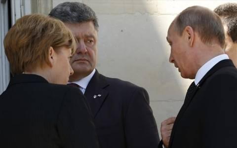 Συνάντηση Πούτιν με τον νέο πρόεδρο της Ουκρανίας στη Γαλλία