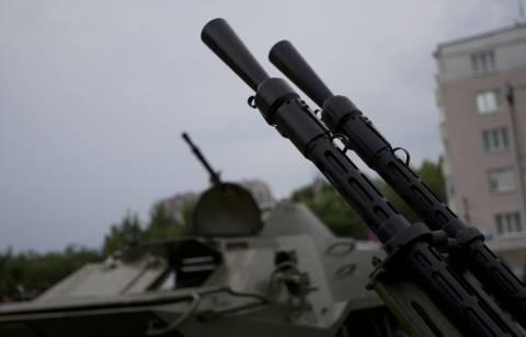 Ополченцы подбили самолет-разведчик под Славянском