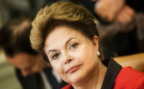 Βραζιλία: Υποχώρησε κι άλλο το ποσοστό της προέδρου Ρουσέφ
