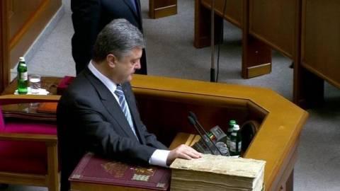 Η ΕΕ και το ΝΑΤΟ χαιρετίζουν τον νέο πρόεδρο της Ουκρανίας (pics)