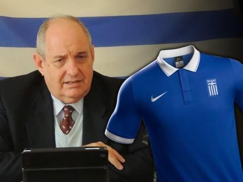 Καταγγελία Κουίκ για τη σημαία στη φανέλα της Εθνικής Ελλάδος