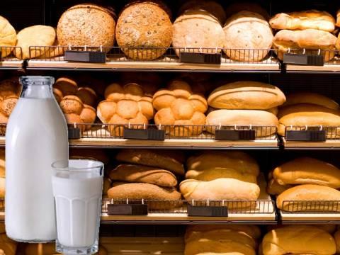 Δεν κατεβαίνουν οι τιμές σε γάλα και ψωμί παρά τις διαβεβαιώσεις