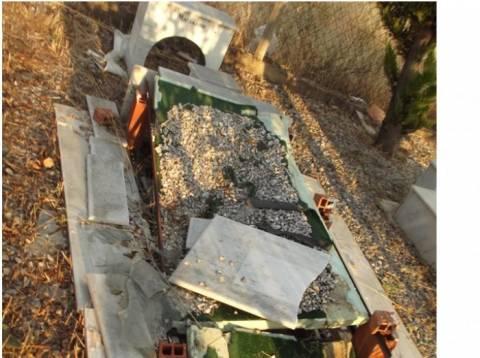 Ν. Τρίγλια Χαλκιδικής: Απέραντος σκουπιδότοπος το κοιμητήριο (φωτό)!