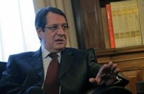 Τη θλίψη του για την τουρκοκυπριακή πλευρά εκφράζει ο Ν. Αναστασιάδης