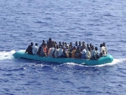 Μεγάλη επιχείρηση διάσωσης μεταναστών στη Μεσόγειο