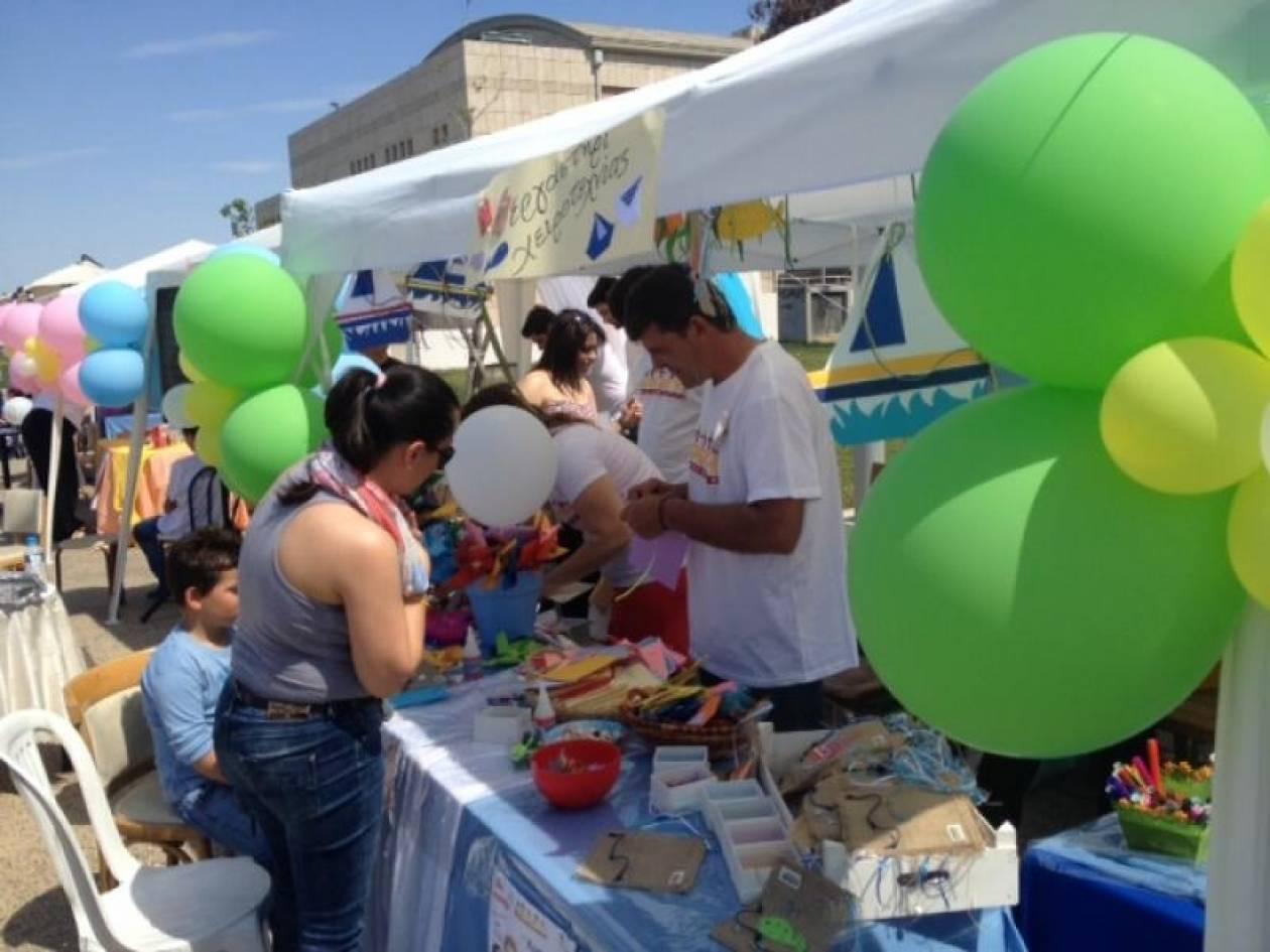Θεσσαλονίκη: Συγκεντρώνουν τρόφιμα για άπορες οικογένειες στην παραλία