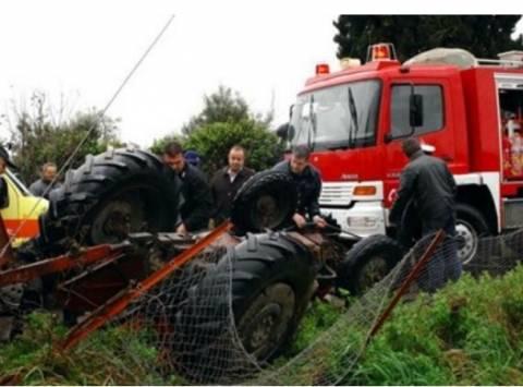 Τραγωδία στα Γιάννενα: Θανατηφόρο τροχαίο ατύχημα με τρακτέρ