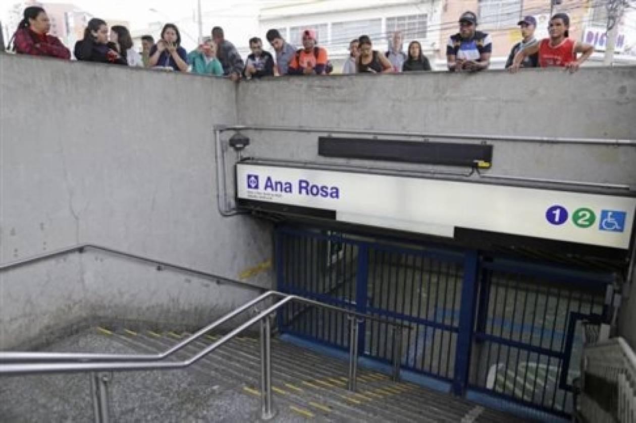 Μουντιάλ 2014: Επιμένουν στην απεργία οι εργαζόμενοι στο μετρό του Σάο Πάολο