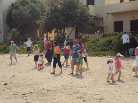 Μαθητές νηπιαγωγείου «καθάρισαν» την Κρήτη