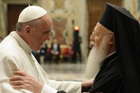 Ιταλία: Συνάντηση  Βαρθολομαίου με πάπα Βενέδικτο