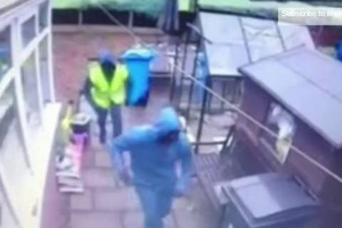 Βρετανία: Γενναίος γείτονας έτρεψε σε φυγή ένοπλους ληστές! (video+photos)