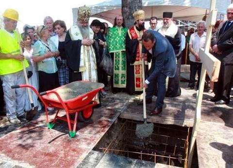 Σκόπια: Μπήκαν τα θεμέλια της πρώτης Ρωσικής Ορθόδοξης Εκκλησίας