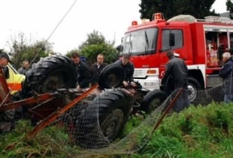 Τραγωδία στη Μαλεσίνα: Πήγε στο χωράφι και βρήκε τον πατέρα του νεκρό