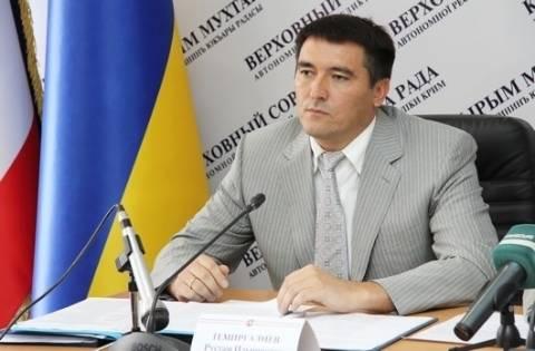 Первый вице-премьер Крыма Рустам Темиргалиев ушёл в отставку