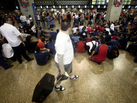 Μουντιάλ 2014: Προβλήματα χωρίς τέλος – Απεργία στα αεροδρόμια του Ρίο ντε Τζανέιρο