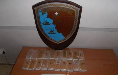Αλλοδαπός συνελήφθη με 11 κιλά ηρωίνης στο λιμάνι της Ηγουμενίτσας