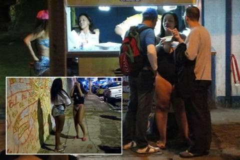 Παγκόσμιο Κύπελλο Ποδοσφαίρου 2014: Έξαρση της πορνείας στη Βραζιλία