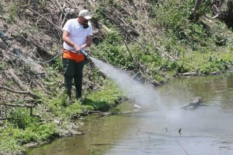 Θεσσαλονίκη: Ξεκίνησαν οι ψεκασμοί για τα κουνούπια σε Καλοχώρι και Σίνδο