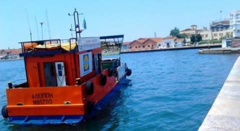 Θερμαϊκός: Συνεχίζει τον καθαρισμό η απόχη της Αλκίππης
