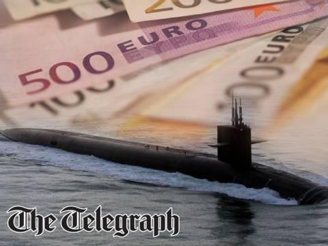 Αποζημίωση 7 δισ. ευρώ διεκδικεί η Ελλάδα από γερμανικό κολοσσό για τα υποβρύχια