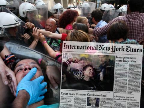 Διεθνής κατακραυγή για τις καθαρίστριες - Πρώτο θέμα στην International New York Times