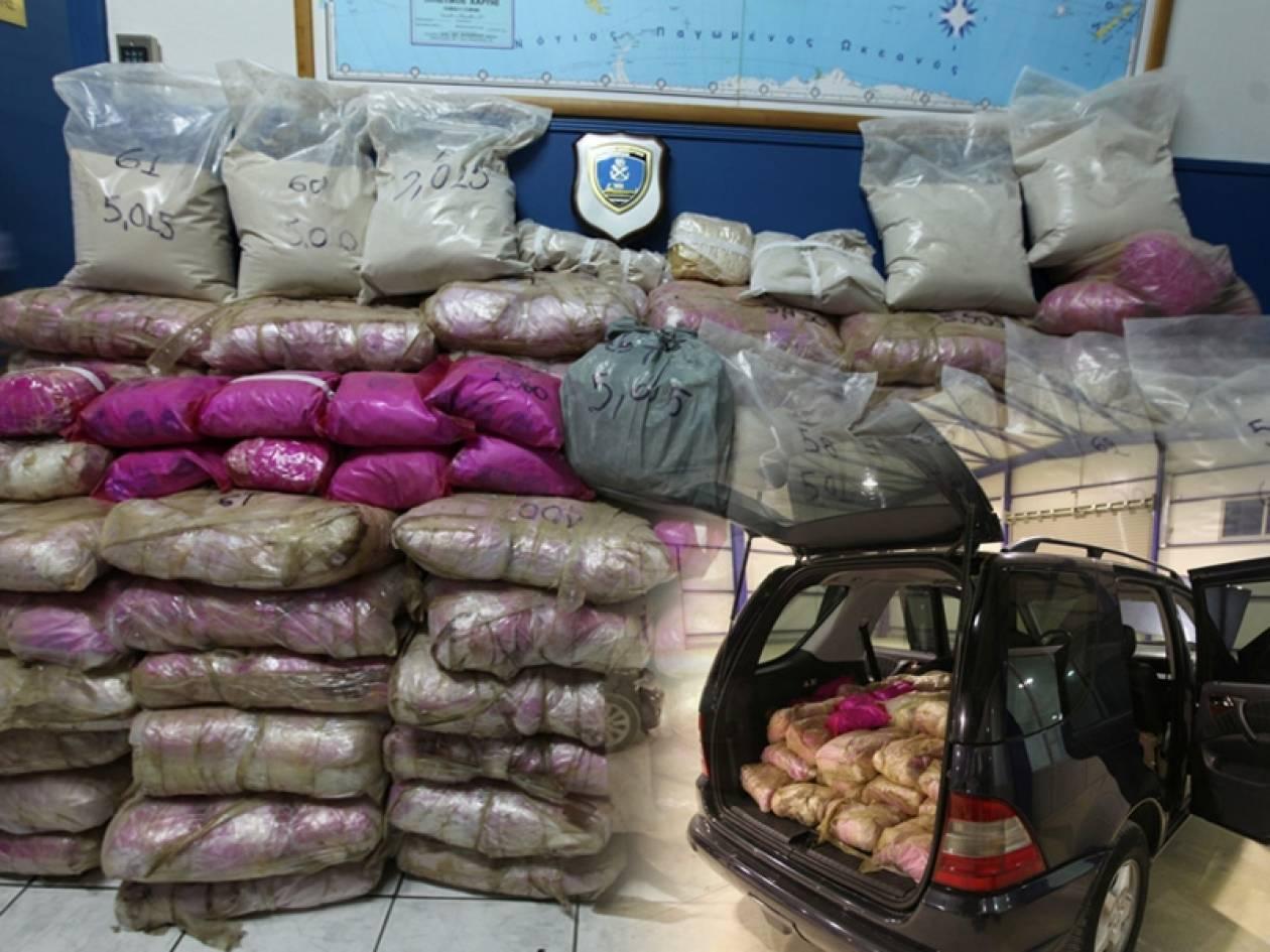 Ένας τόνος ηρωίνης σε αποθήκες της Αττικής - 11 συλλήψεις (pics)