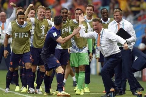 Mundial 2014: Τα έξι γκολ της αναμέτρησης Ισπανία-Ολλανδία (video)