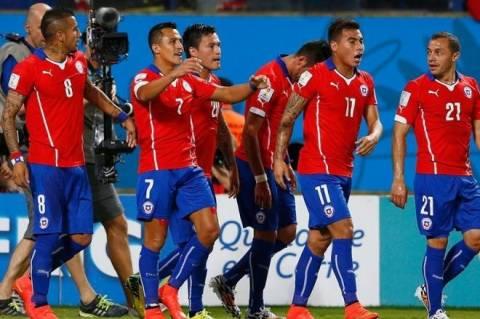Mundial 2014: Τα γκολ της αναμέτρησης Χιλή - Αυστραλία (video)