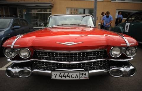 В Москве стартует ралли классических автомобилей