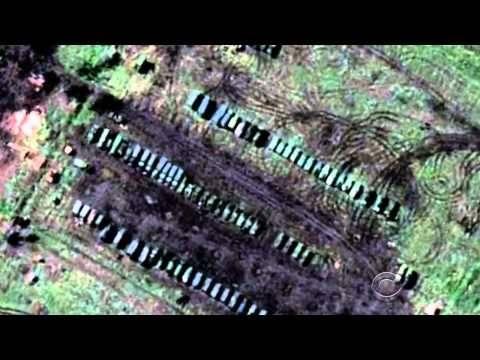 NATO: Στη δημοσιότητα δορυφορικές φωτογραφίες με ρωσικά άρματα μάχης