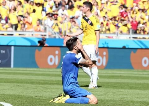 Μουντιάλ 2014: Πρεμιέρα με ήττα για την Ελλάδα, 3-0 η Κολομβία